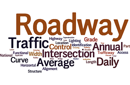 Surface Transporation Word Cloud
